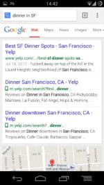 Google - SF Dinner