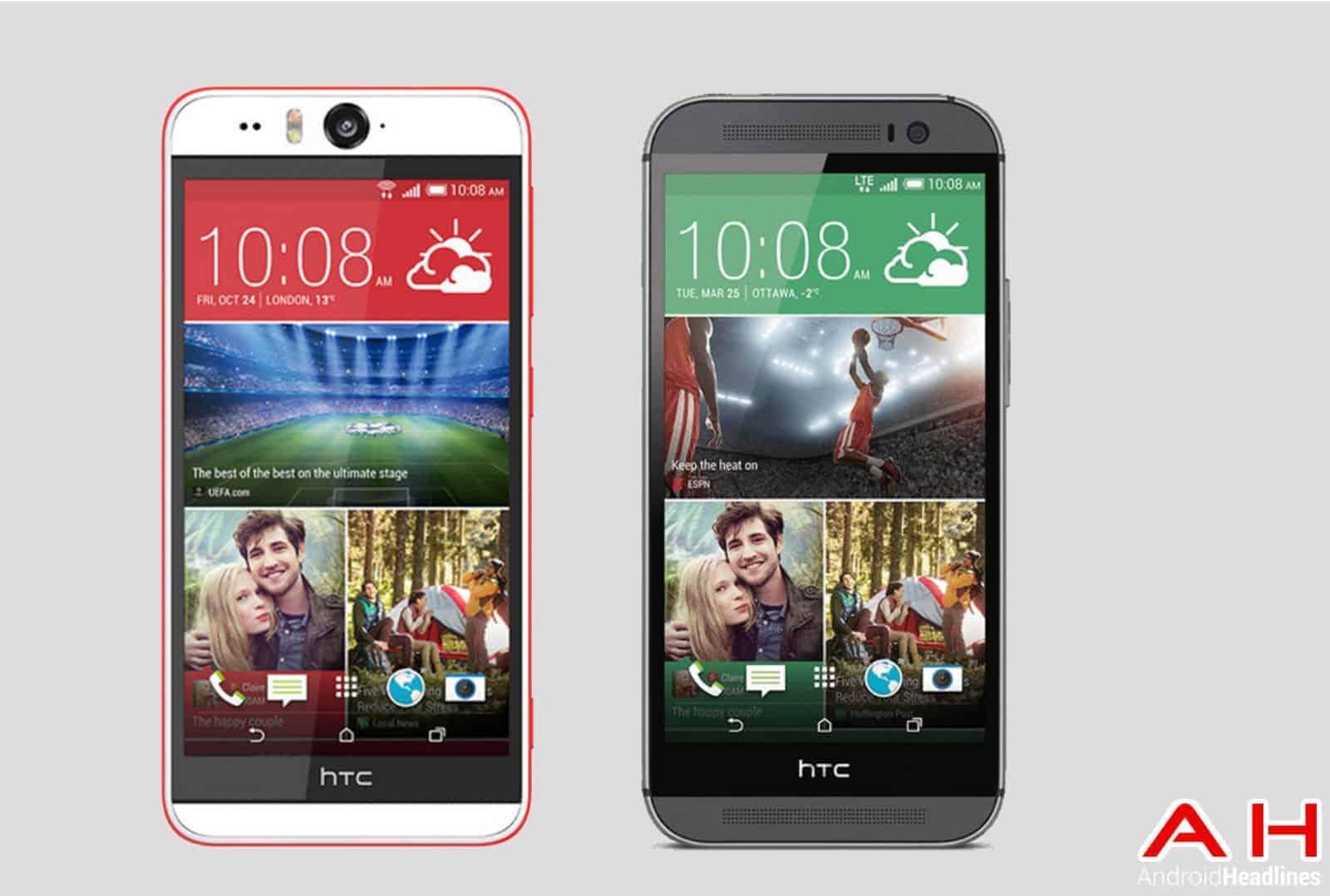 Phone Comparisons: HTC Desire Eye vs HTC One M8 ...