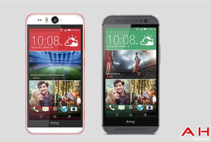 Phone Comparisons: HTC Desire Eye vs HTC One M8