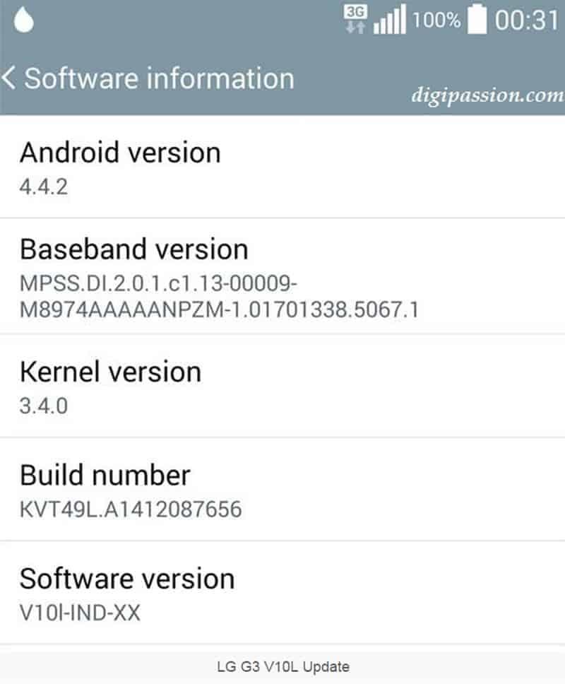 LG G3 Update to Fix UI Lag