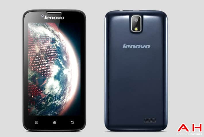 Lenovo 328A Released in India for Rs. 7,299