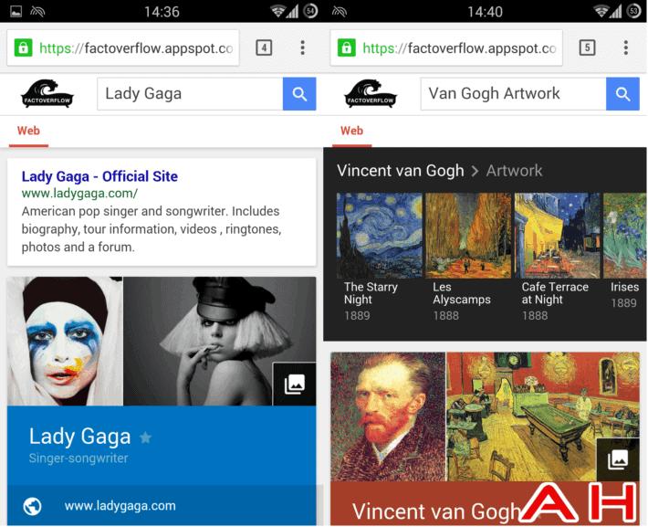 Sneak Peek At Google's New Material Design Google Search