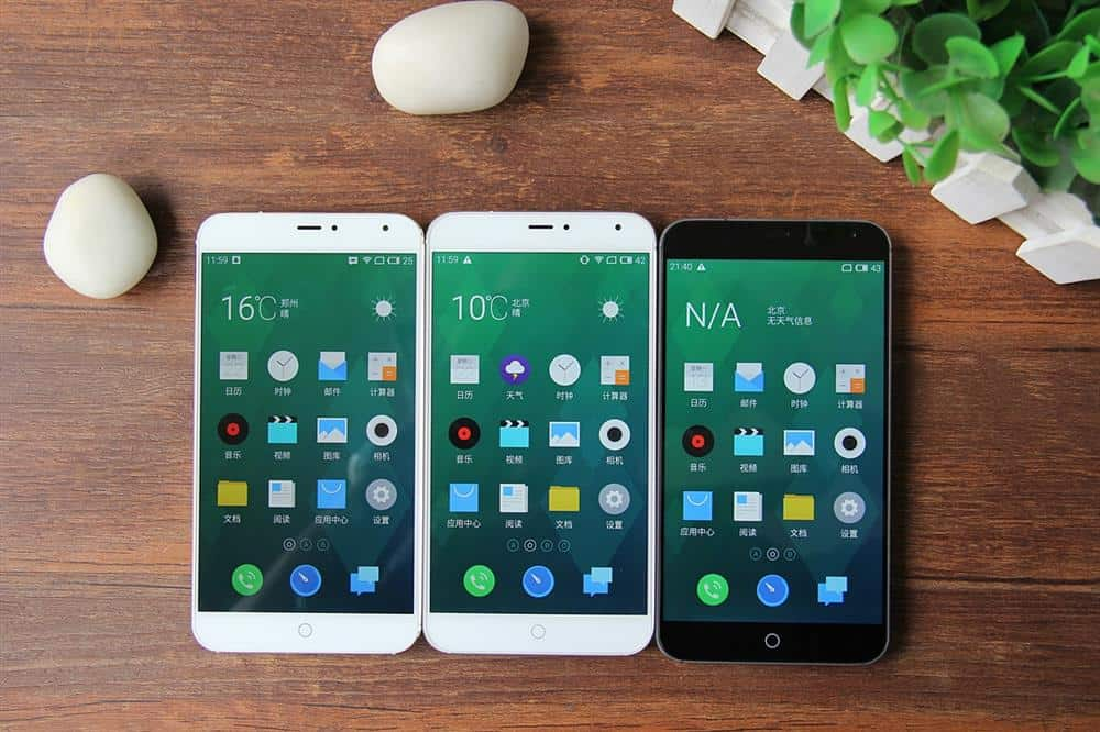 Meizu MX4 all 3 variants side by side 1
