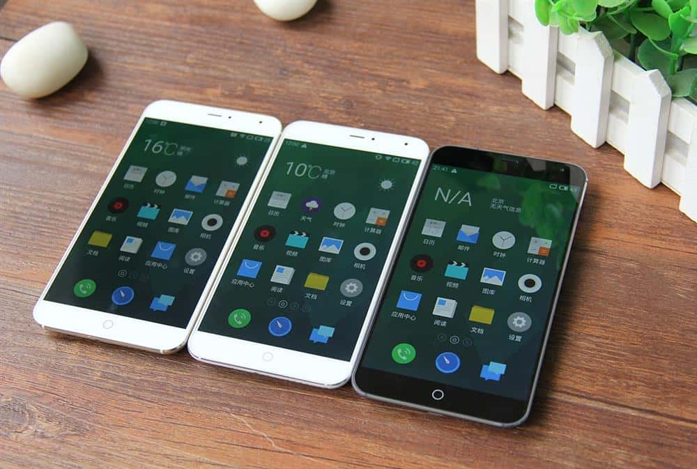 Meizu MX4 all 3 variants side by side 2