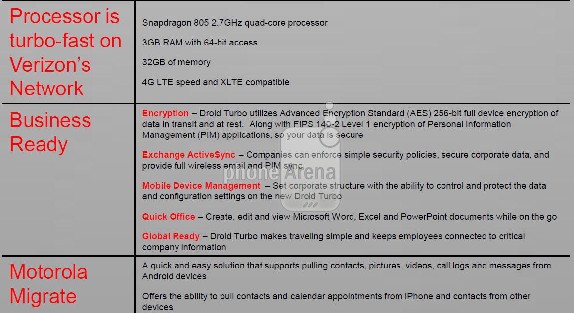 Motorola Droid Turbo Info Page Leak 4