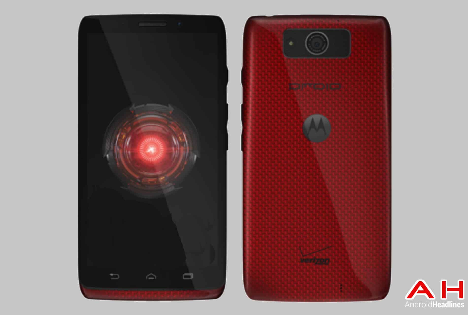 Motorola Droid Ultra F&B Red AH