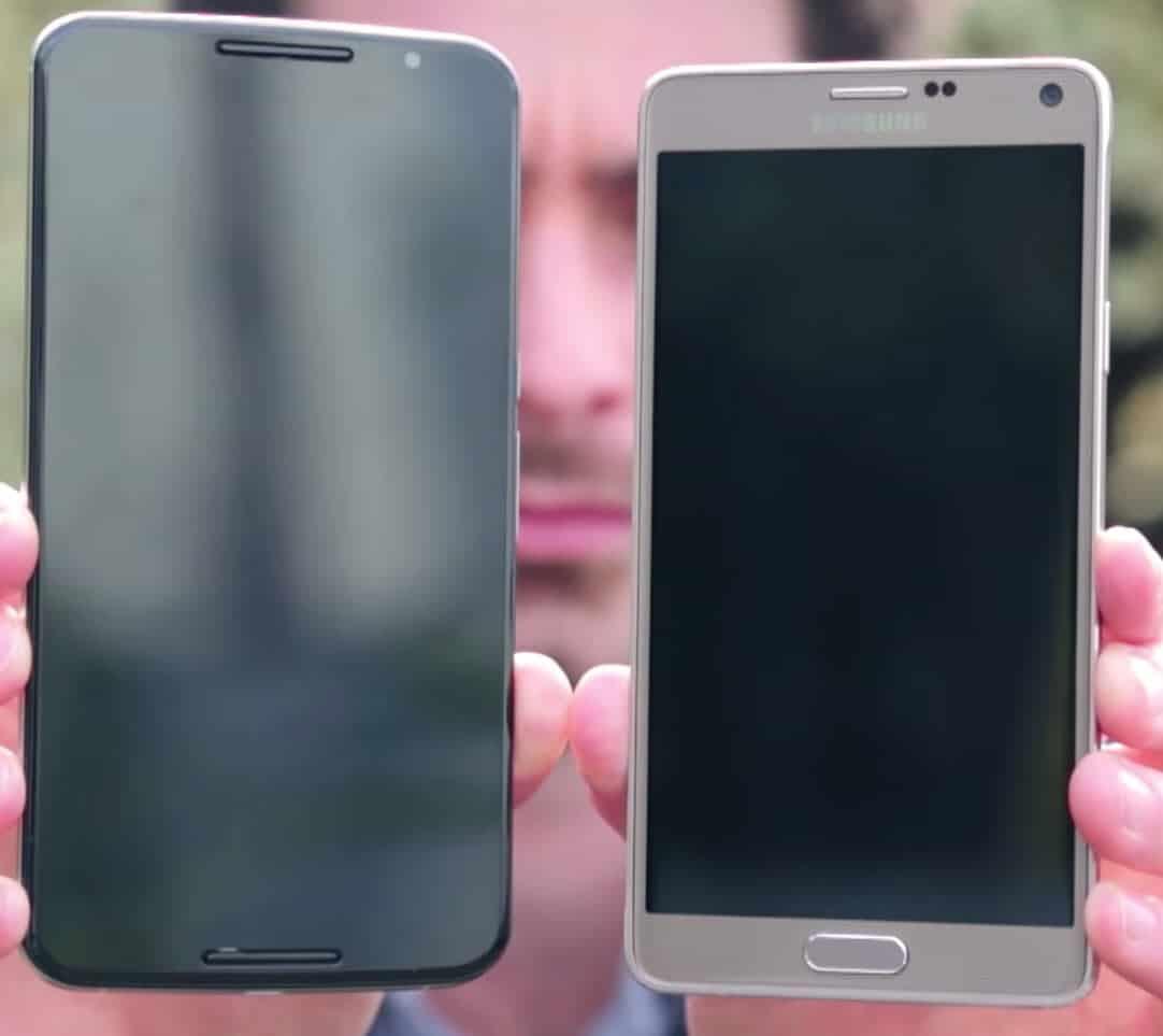 Nexus 6 vs Note 4