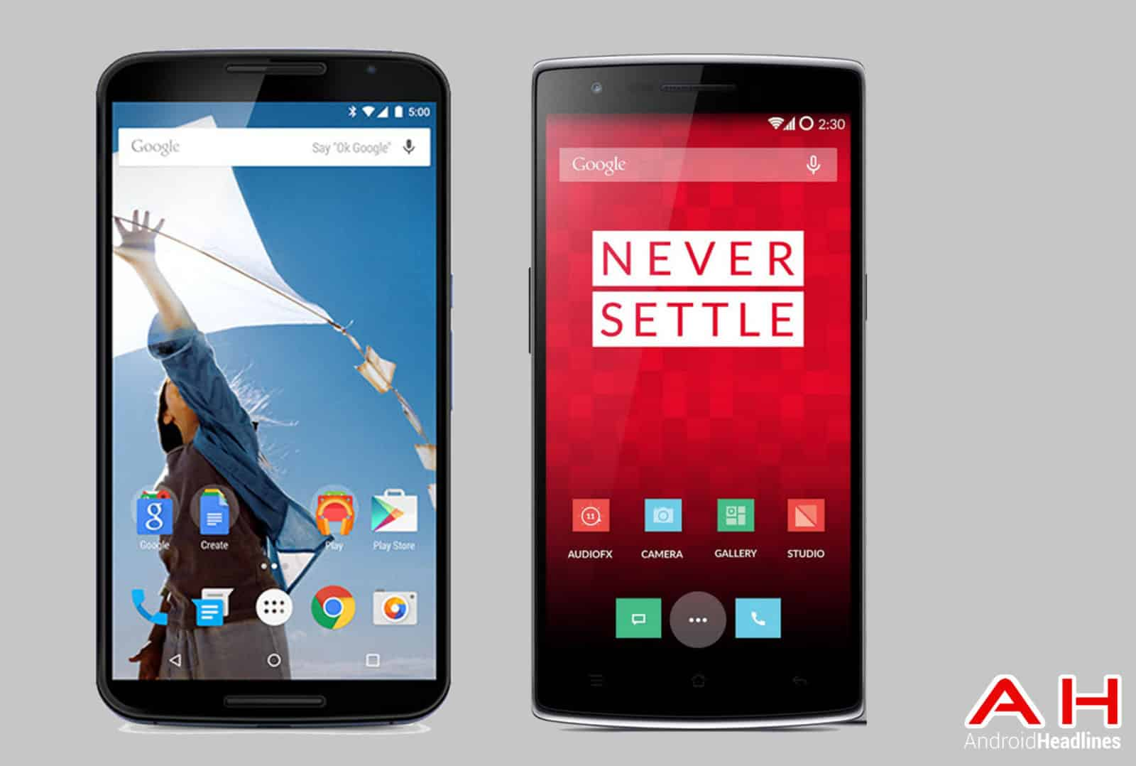 Nexus 6 vs OnePlus One AH