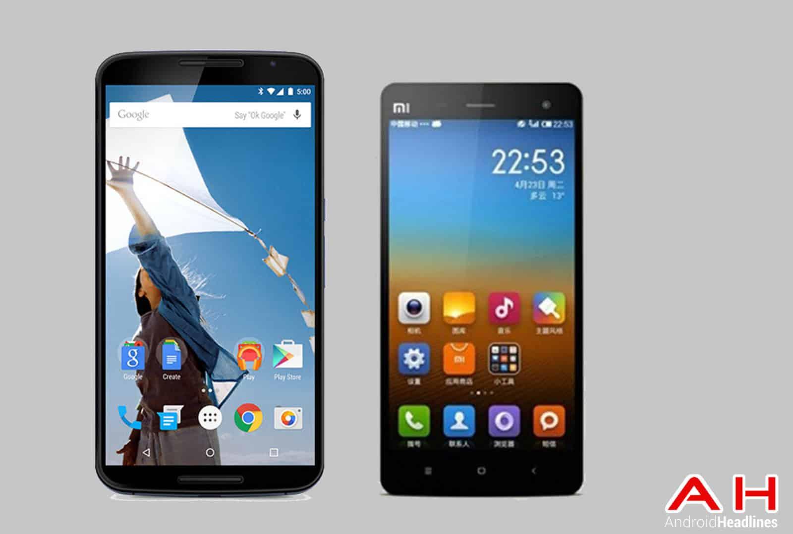 Nexus 6 vs Xiaomi Mi4 AH