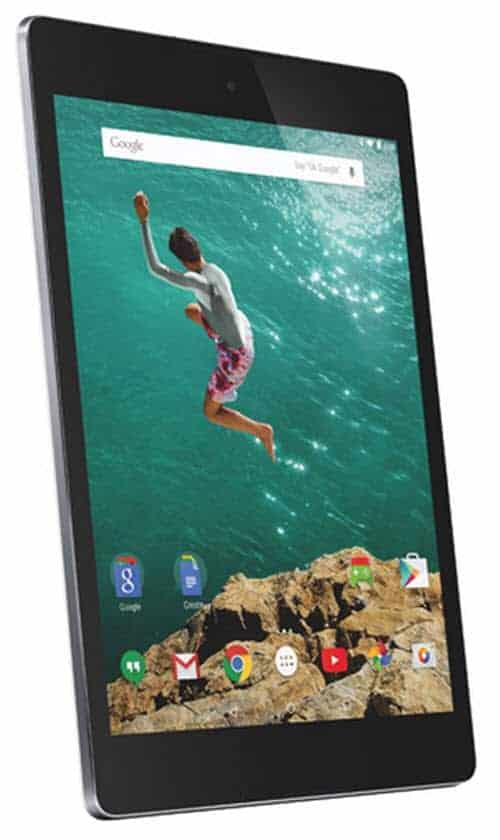 Nexus 9 Angle Left