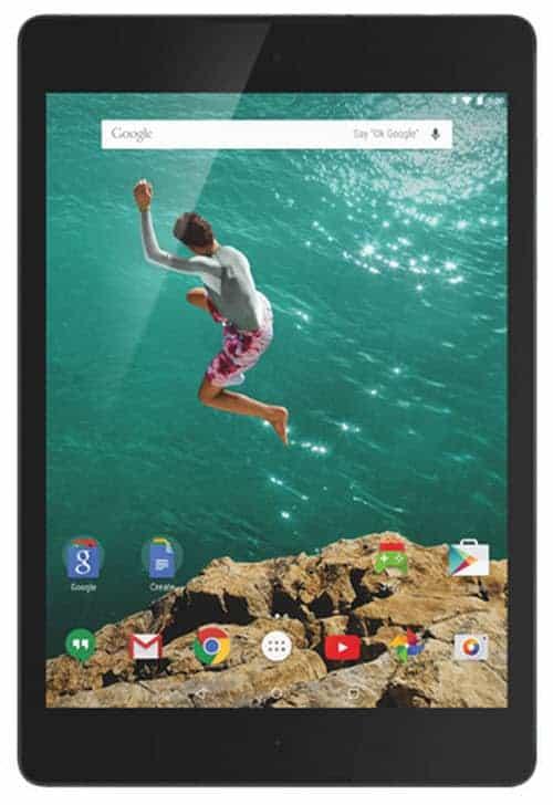 Nexus 9 Front