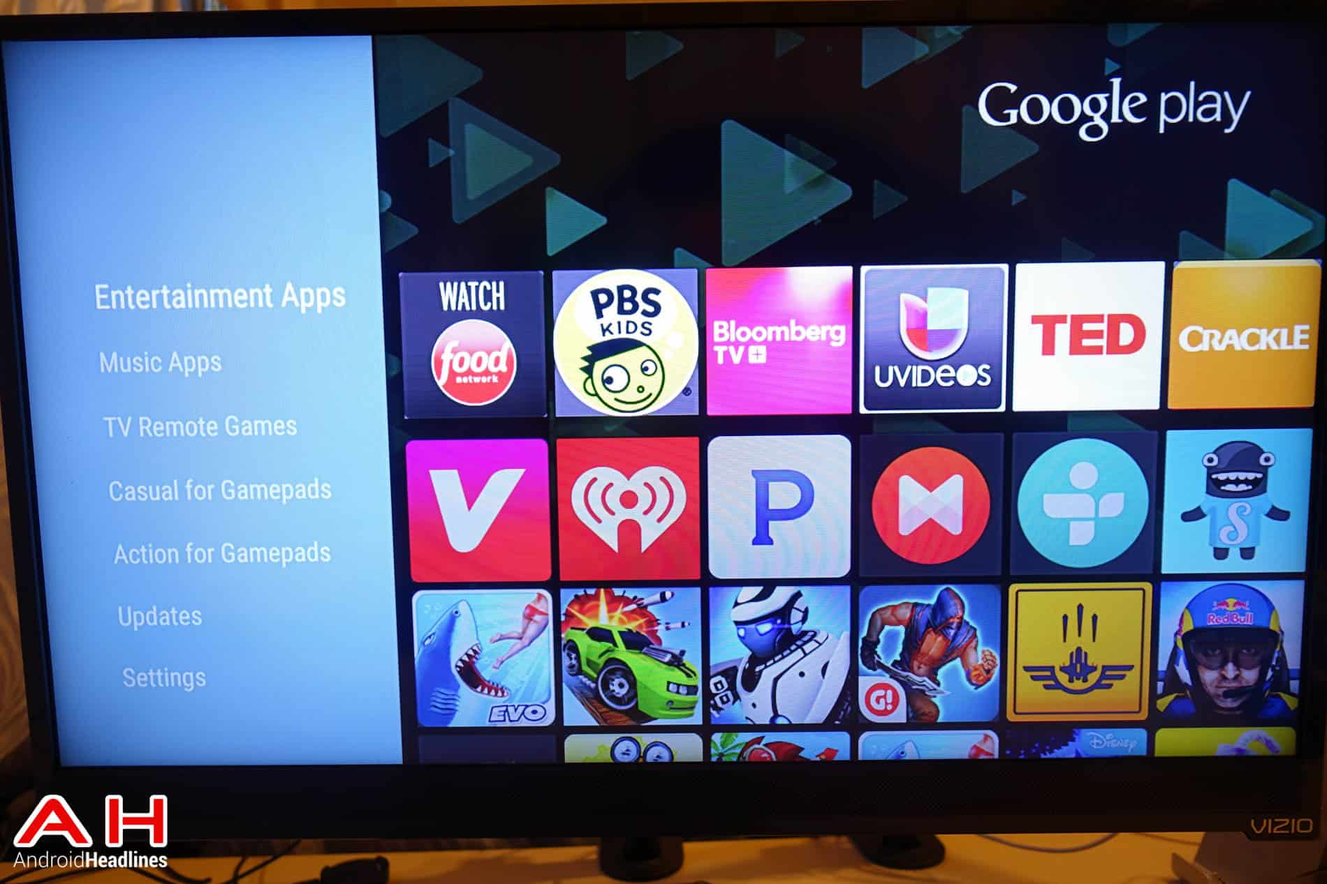 Nexus Player Android TV Software AH 2
