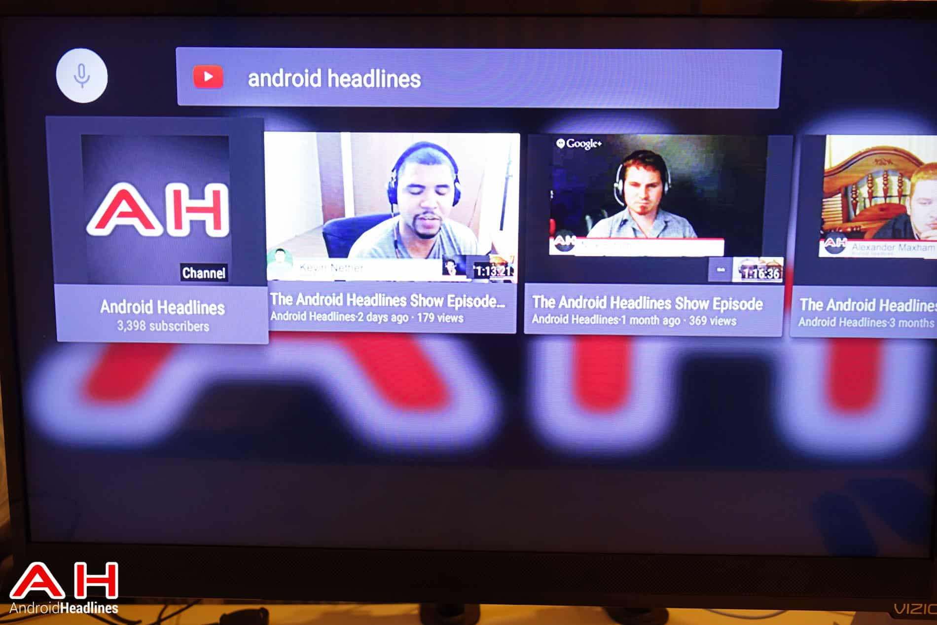 Nexus Player Android TV Software AH 3