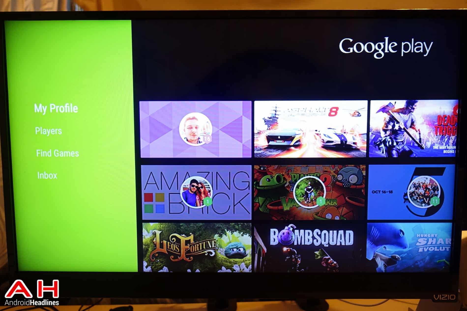 Nexus Player Android TV Software AH 7