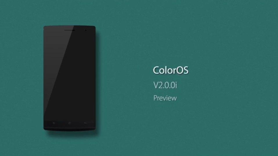 Oppo Color OS 2.0.0