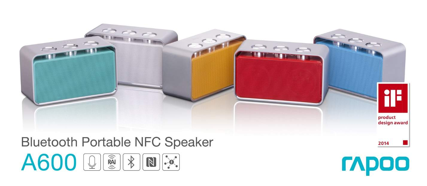 rapoo a600 bluetooth nfc speaker