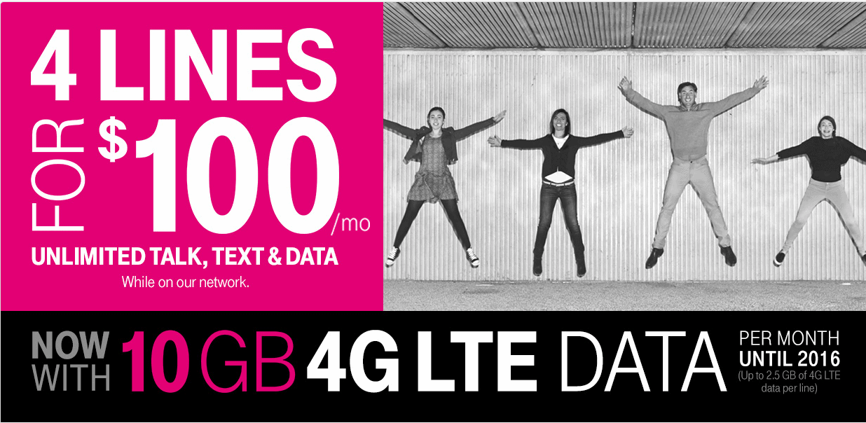 T-Mobile Simple Choice Promo