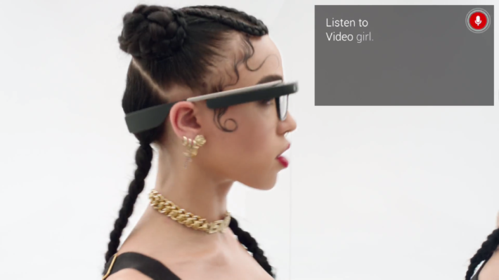 "Google Glass Gets Celebrity Treatment In FKA Twigs New ""Through Glass"" Music Video"
