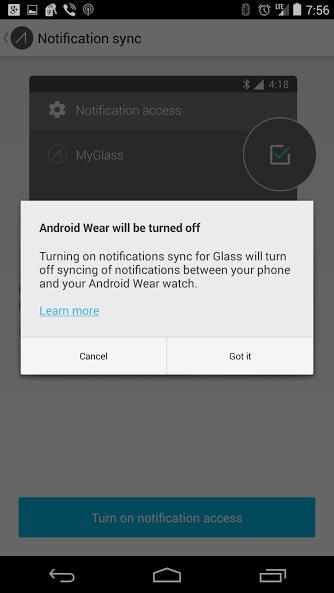Google Glass Notifications Update
