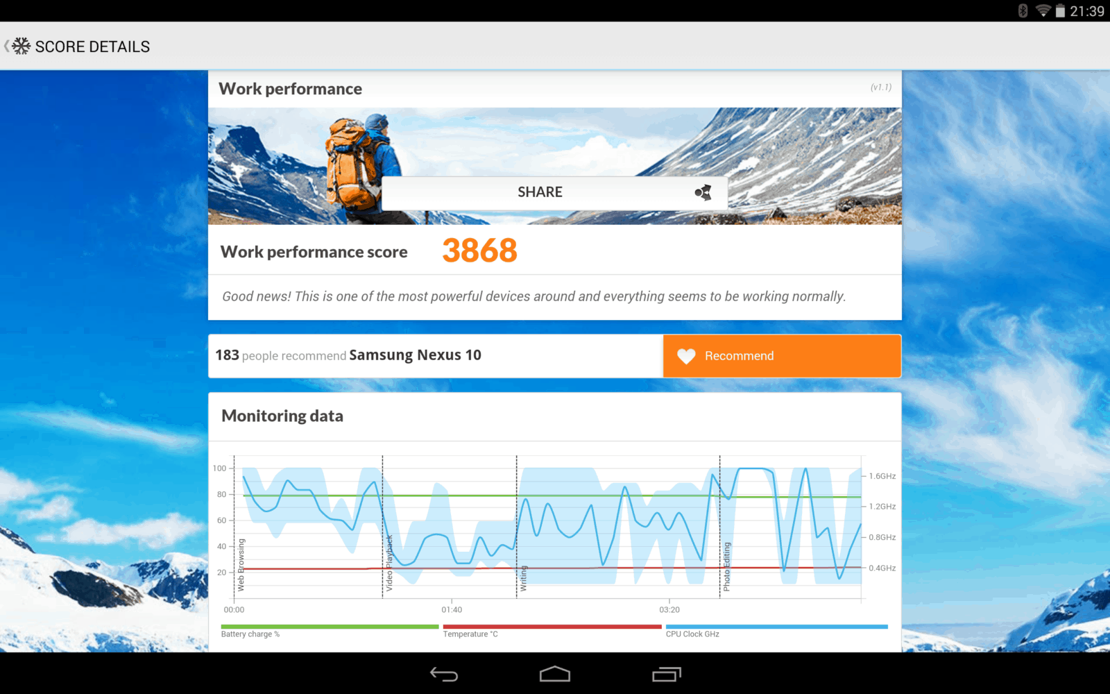PCMark Nexus 10 4.4.4