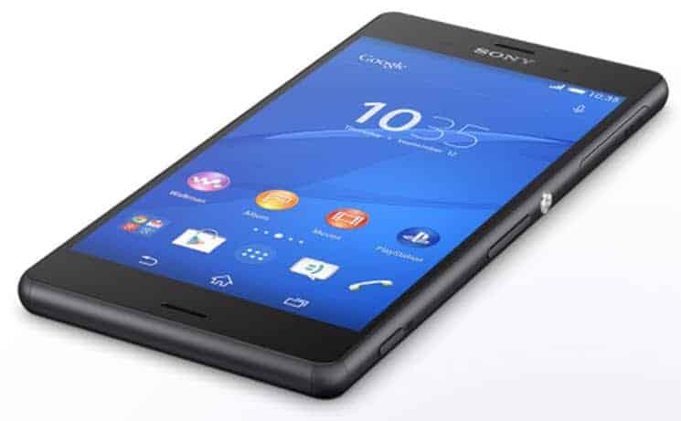 Sony Xperia Z3 Down
