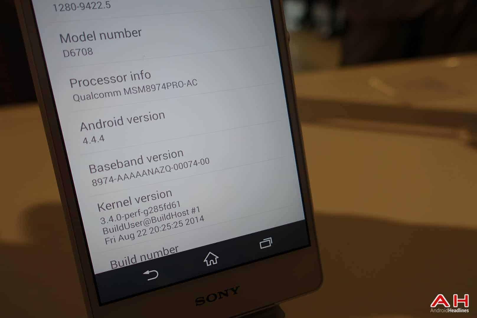 Sony Xperia Z3V AH 35
