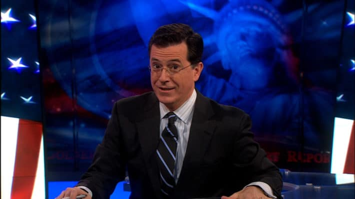 Stephen Colbert Disagrees With How Tall Google Says He Is