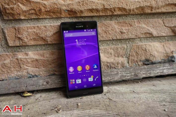 T mobile Xperia Z3 AH 26