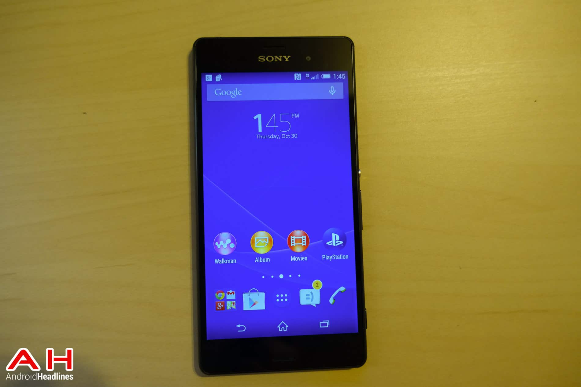 T mobile Xperia Z3 AH 5