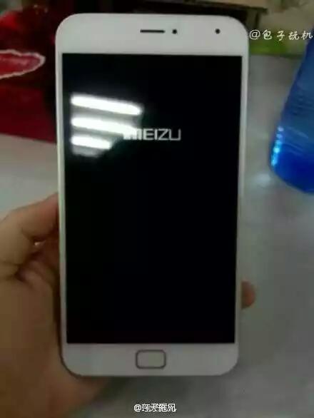 White Meizu MX4 Pro leak