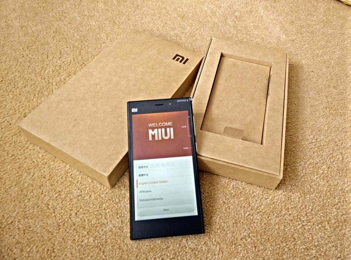 Xiaomi Mi3 1