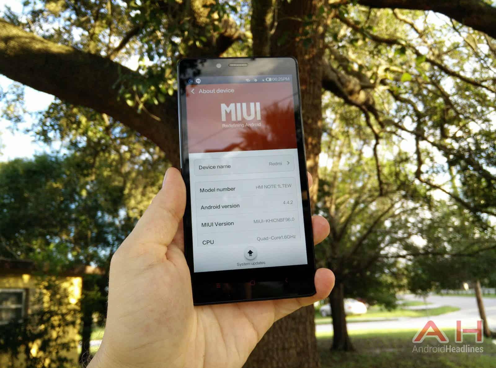 Xiaomi Redmi Note miui 09
