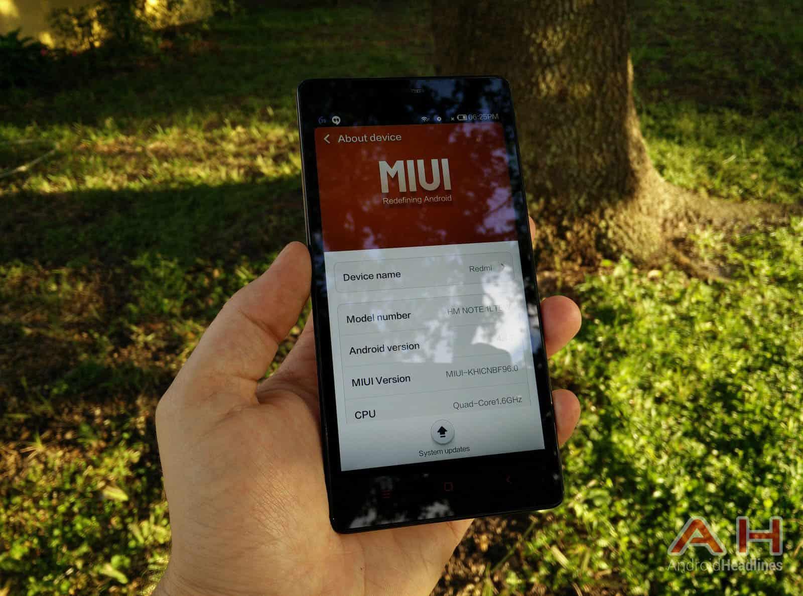 Xiaomi Redmi Note miui 11