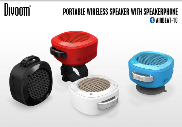 Divoom Unveils Airbeat-10 Suction Cup, Water-Resistant Bluetooth Speaker