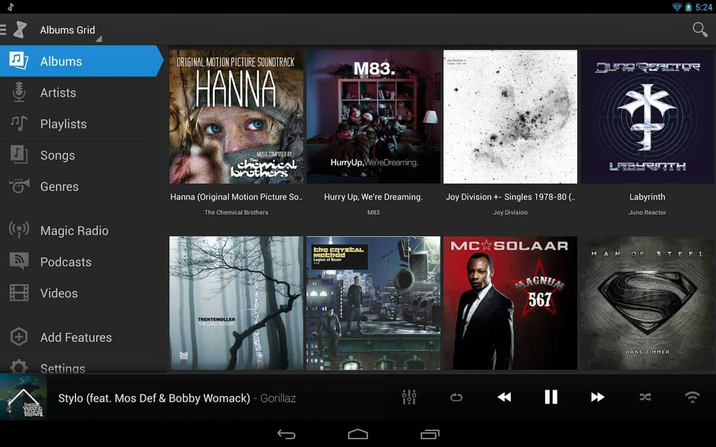 doubletwist  - 10 Best Music Player for Android with Equalizer 2017