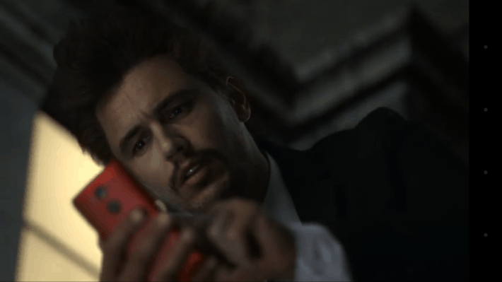 Droid Turbo's Recent James Franco And Gargoyle Videos Explained In New Verizon TV Ad