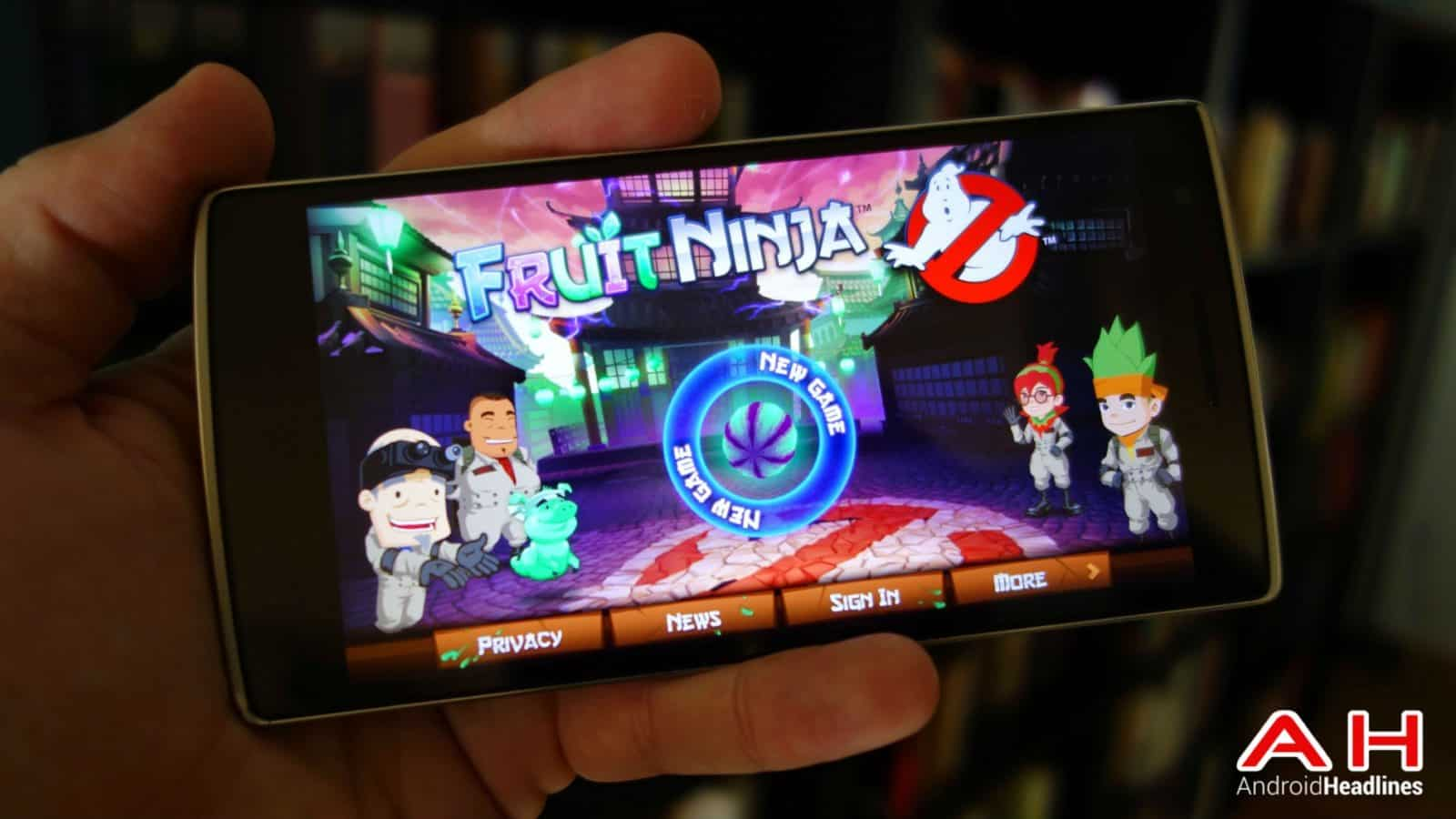 fruit ninja ghostbusters