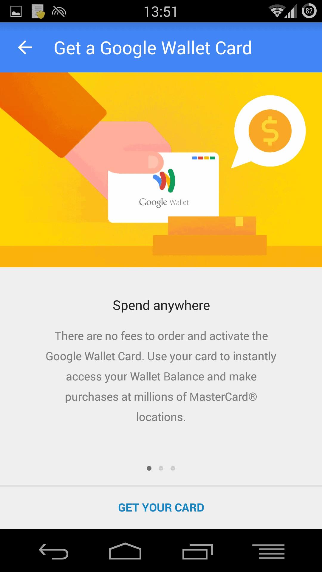 google wallet md3