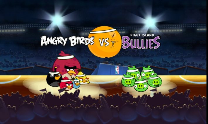 """Angry Birds Seasons Releases """"Ham Dunk"""" Update To Coincide With Start Of NBA Season"""