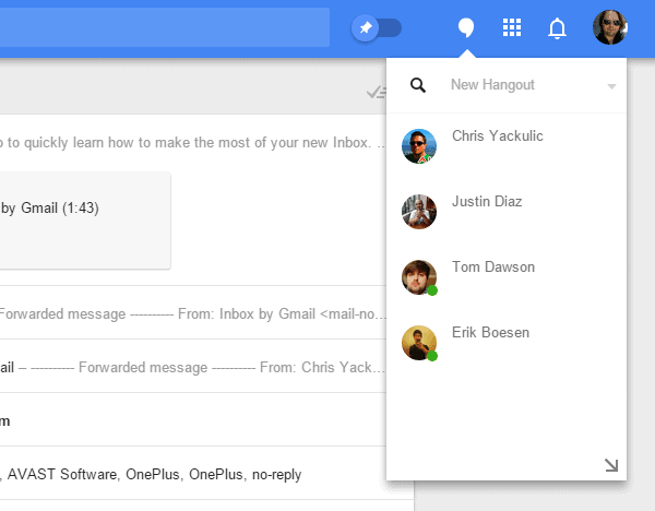 inbox hangouts2