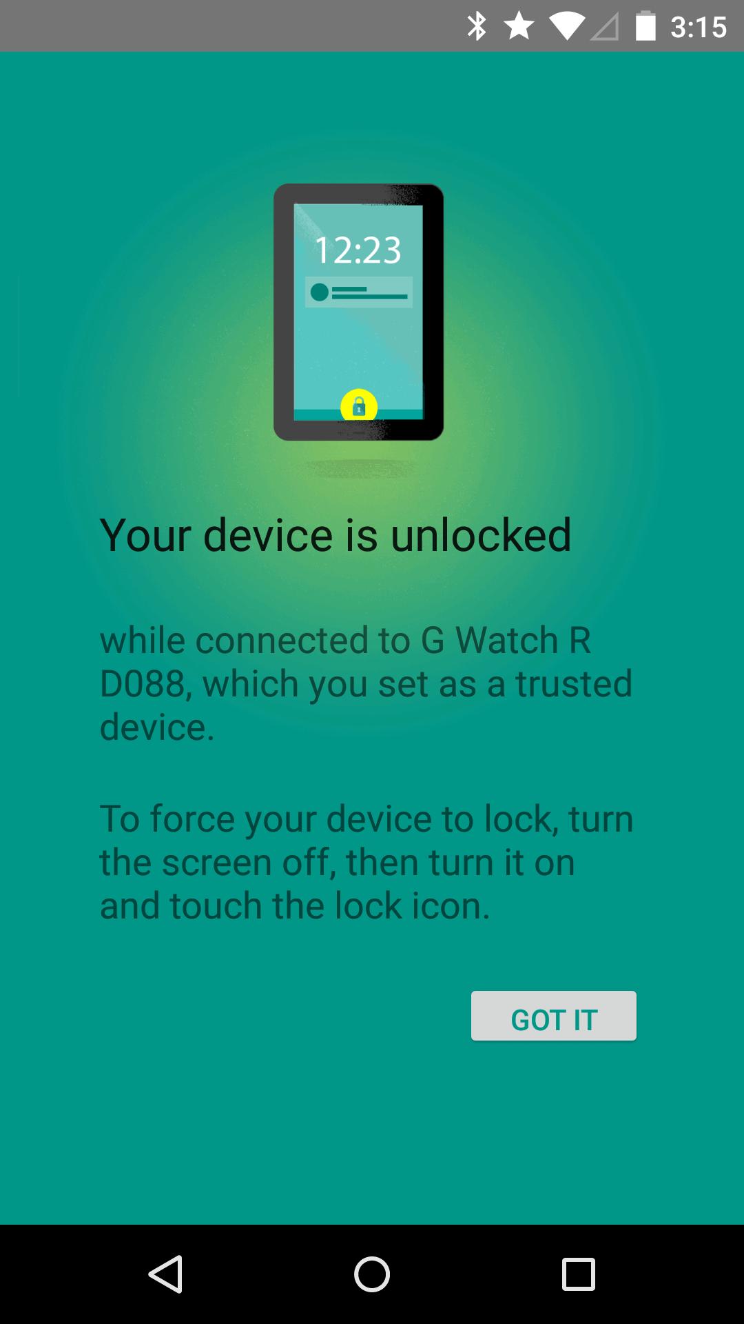 lollipop smart lock screensaver4