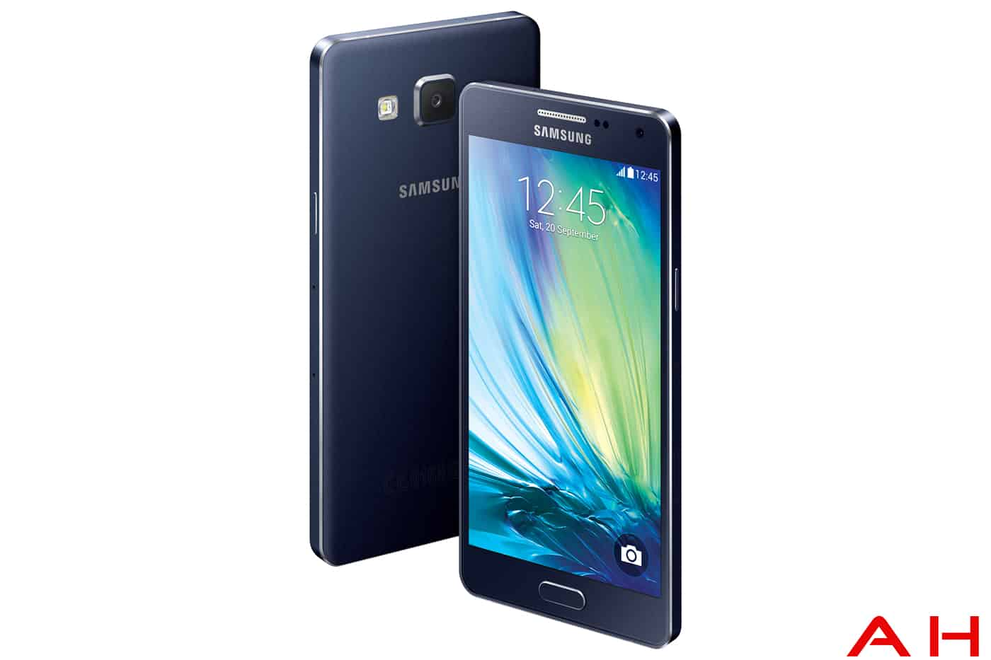 samsung galaxy A5 front and back