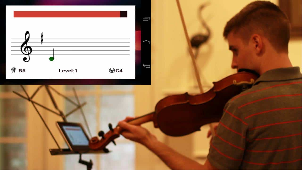 This App Basically Does What You Think It And Can Help Learn How To Read Sheet Music While Actually Using Your Chosen Instrument Mostly Strings