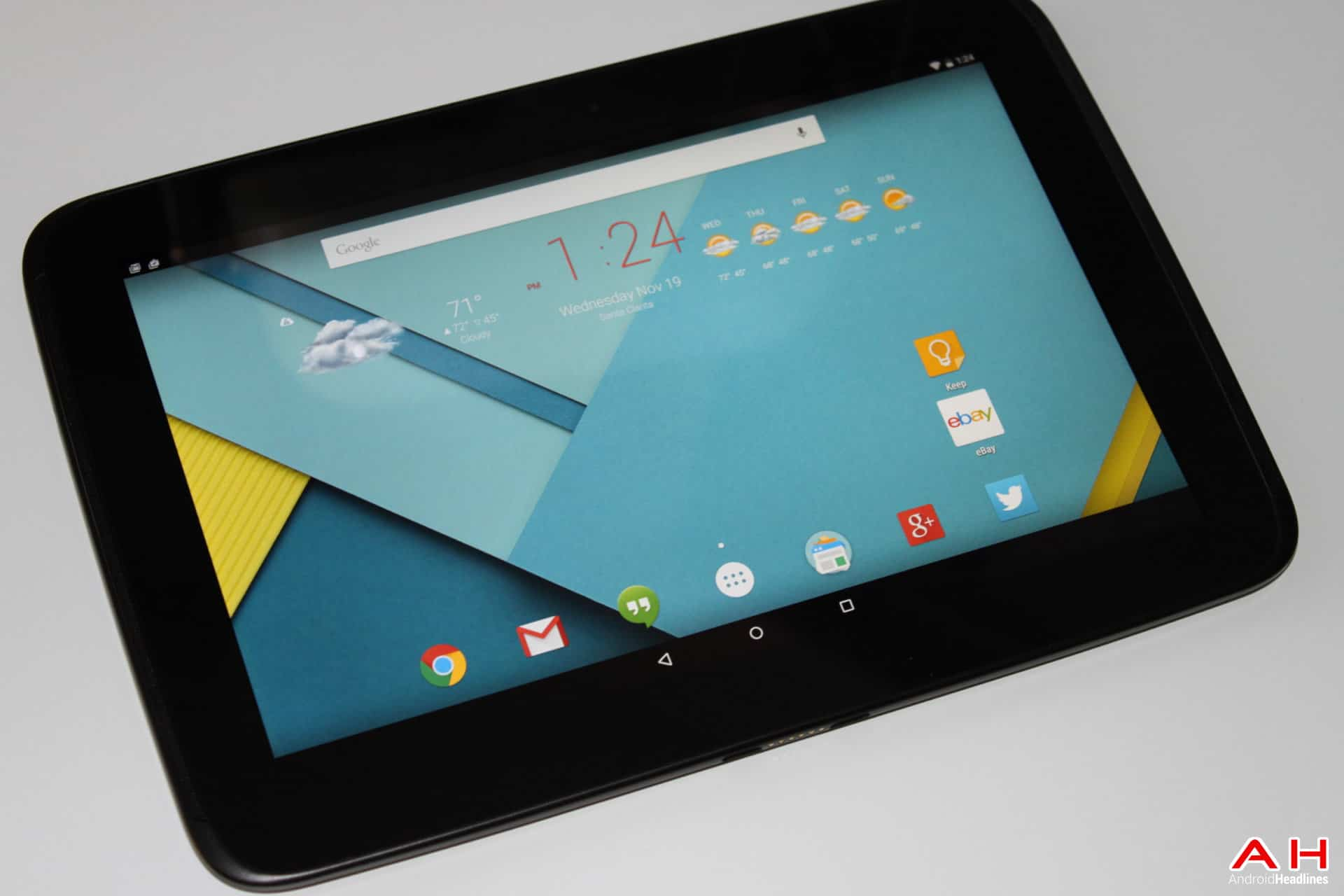 AH -1 Nexus 10 Lollipop android 5.0