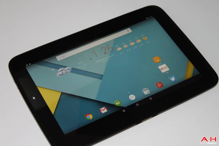 Google Nexus 10 Tablet Starts Getting Over-The-Air Update For Android 5.1.1 Lollipop