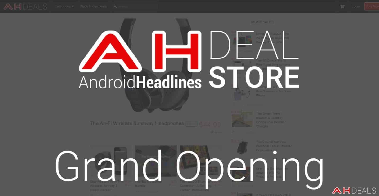 AH Deal Store Grand Opening