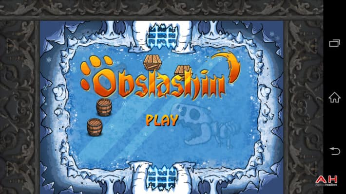 Android Game Of The Week: Obslashin'