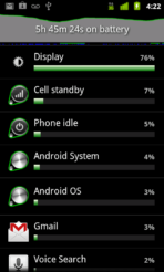 Android 2.3 Gingerbread 4