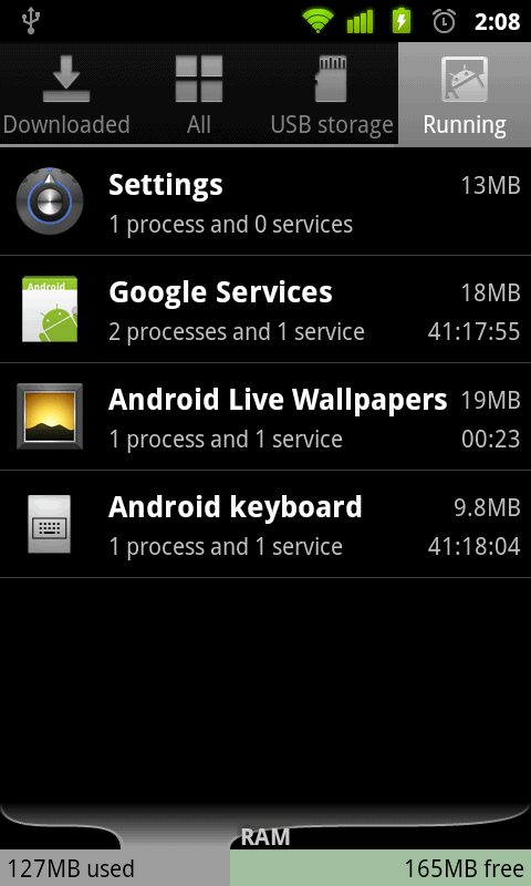 Android 2.3 Gingerbread 5