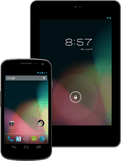 Android 4.1 Jelly Bean 1